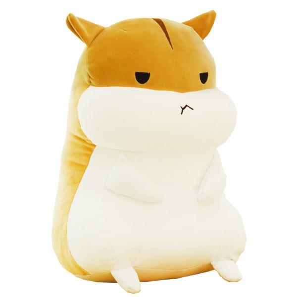 暖手抱枕捂手枕毛绒玩具仓鼠玩偶女孩韩国可爱睡觉女生布娃娃公仔